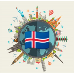 Free data pack of Iceland