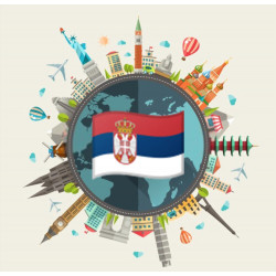 Free data pack of Serbia