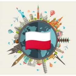 Medium data pack of Poland
