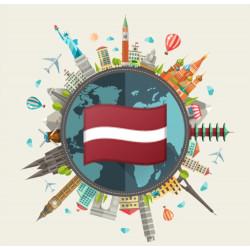 Free data pack of Latvia