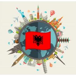 Free data pack of Albania