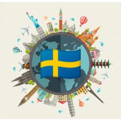 Medium data pack of Sweden