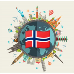 Free data pack of Norway